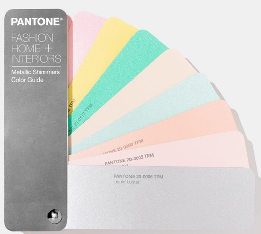 Pantone Metallic Shimmers Color Guide