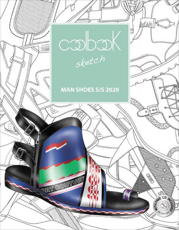 Coolbook Sketch Men's Shoes SS 2020