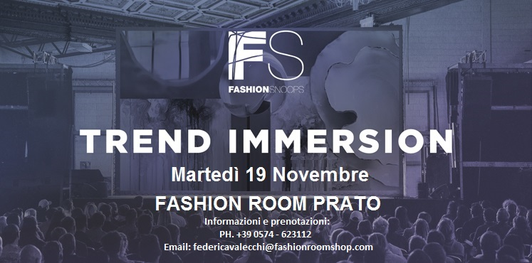 Fashion Snoops Trend Immersion SS 2021 Workshop