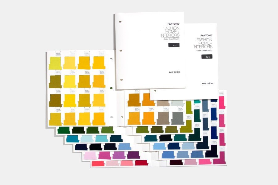FHI Cotton Swatch Library Supplement  315 new colours