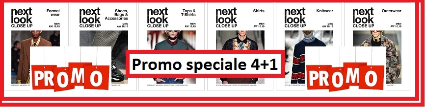 Promo Pack 4+1 Next Look Close Up Men aw 2018/19